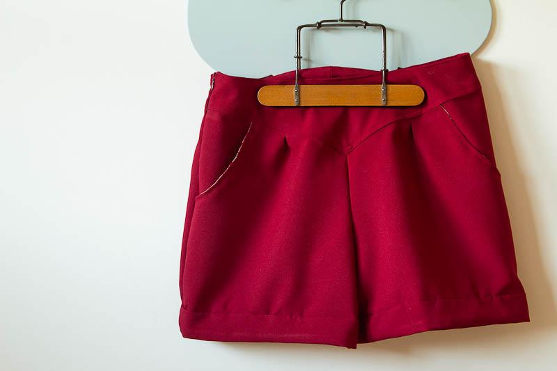 Short rouge-2