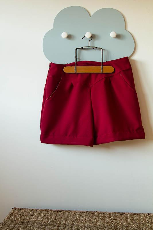 Short rouge-3