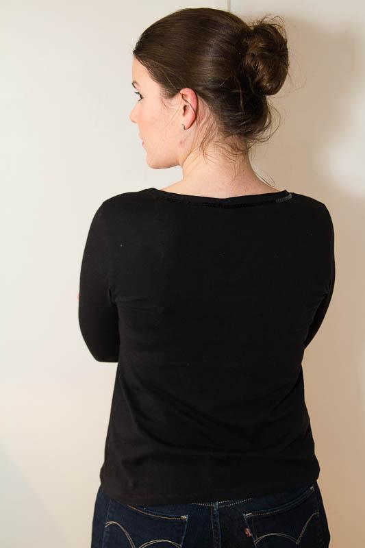 Tshirt noir-7