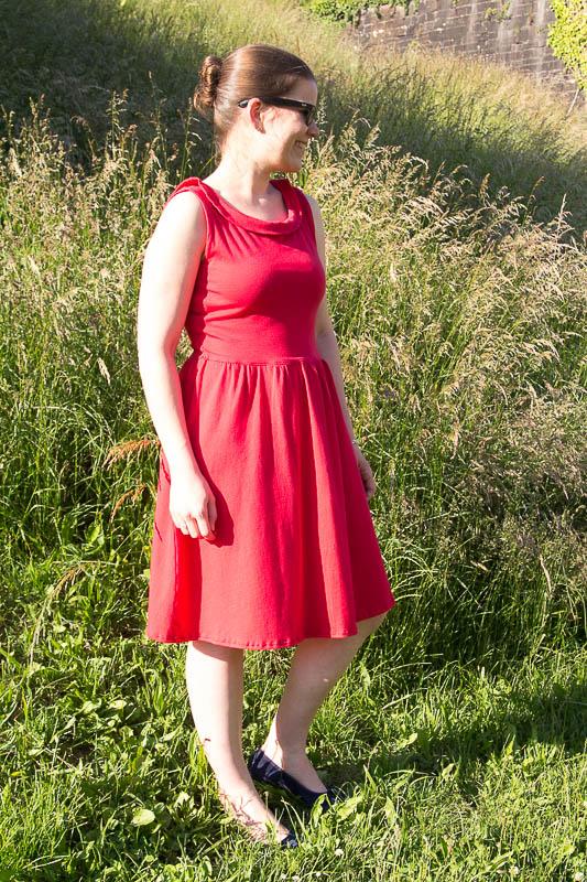 Robe Moneta rouge