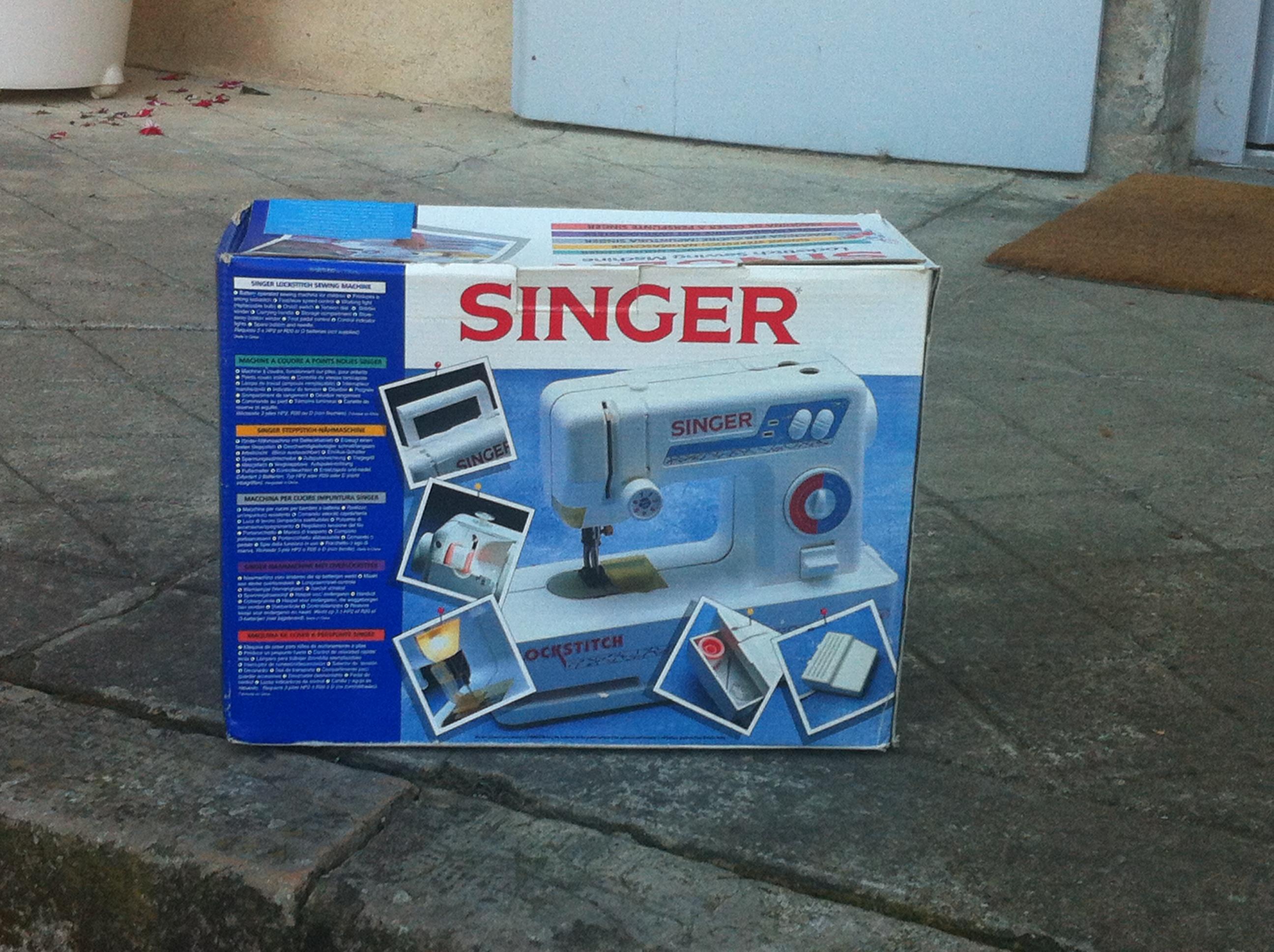 Singer enfant 1